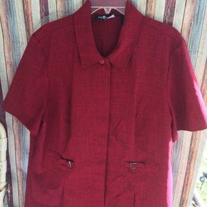 Sag Harbor career woman's skirt suit sz 18w